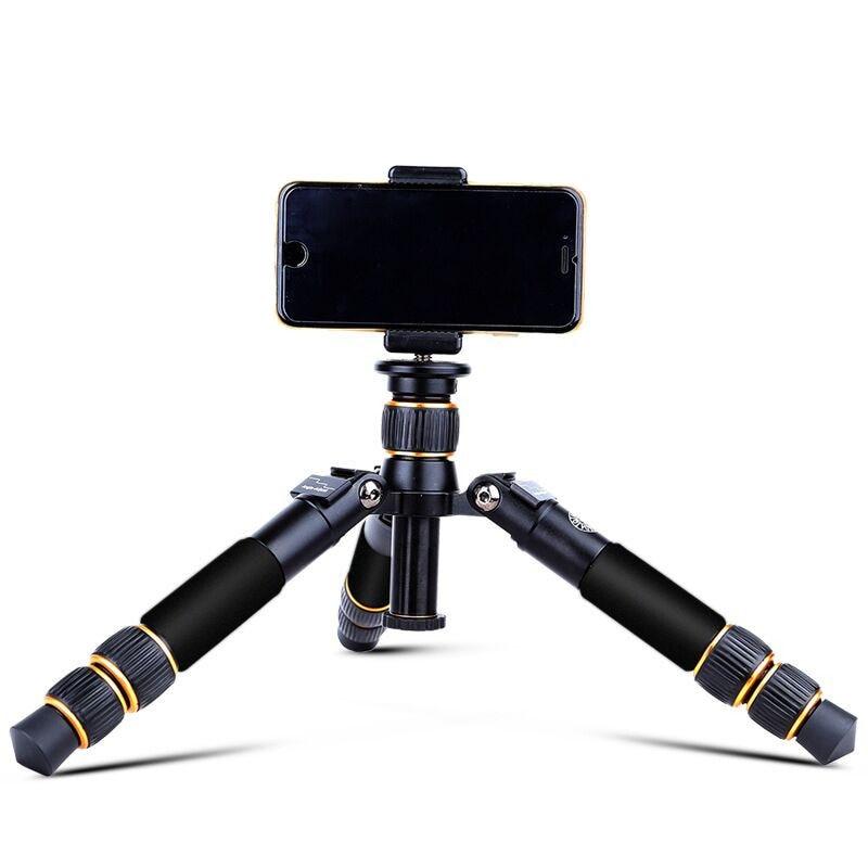 Mini trépied d'appareil-photo flexible portatif léger de trépied utilisation avec la tête et le monopdod avec le support d'ipad de téléphone