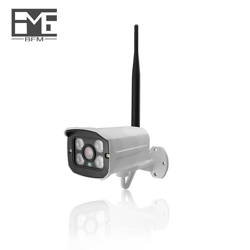 BFMore Audio TF Card Slot Wireless Mini IP Camera 1.0MP 720P Two-way Audio Wifi Security  IR Night Vision cameras OutdoorBFMore Audio TF Card Slot Wireless Mini IP Camera 1.0MP 720P Two-way Audio Wifi Security  IR Night Vision cameras Outdoor
