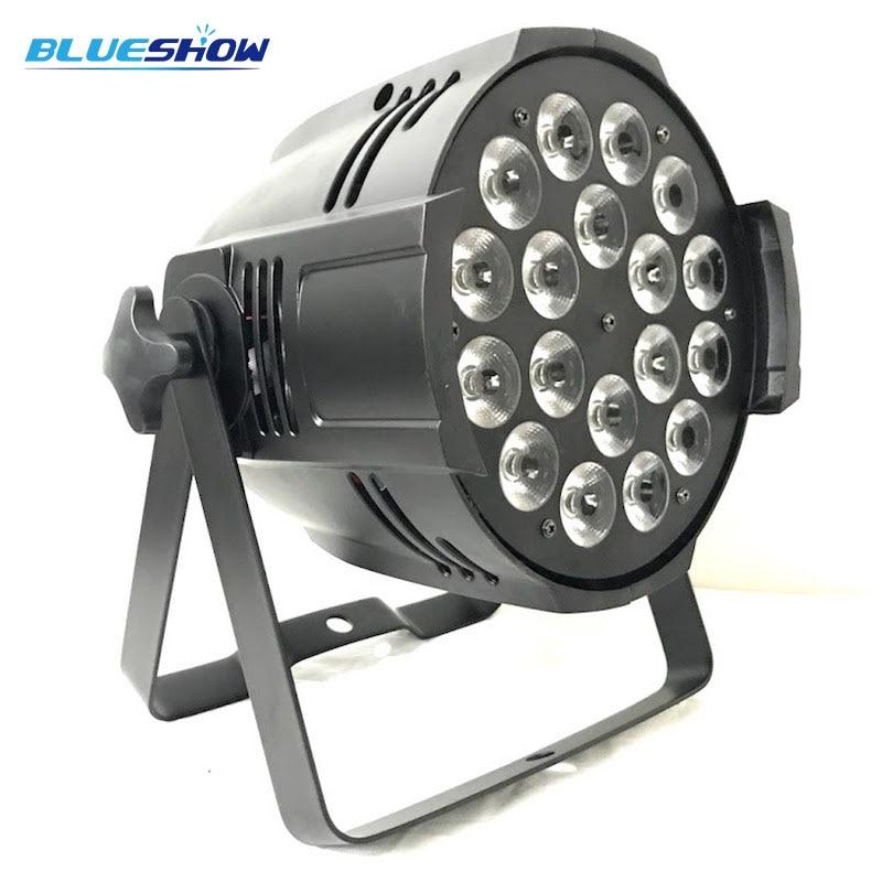 8pcs/lot, Power In Out LED par light 18x12W RGBW 4in1 18x15w RGBWA 5in1 18x18w RGBWA+UV 6in1 DMX for disco,party,dj,club,wedding цены