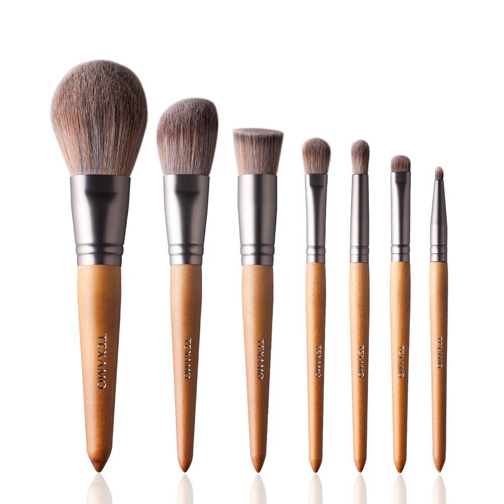 Aliexpress Com Buy Texamo 7pcs Makeup Brushes Premium