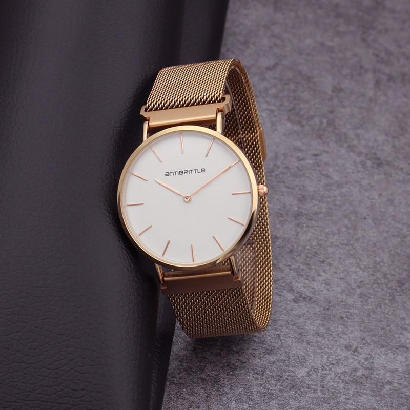 Quartz Πολυτελή Μάρκα Rose Χρυσό ματιών - Γυναικεία ρολόγια - Φωτογραφία 5
