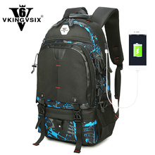 Printing backpack Europe and America style New men travel bags luggage bag Large capacity computer