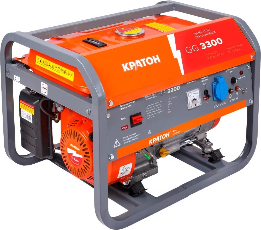 Gasoline generator KRATON GG-3300 free shipping 173f carburetor gasoline generator parts