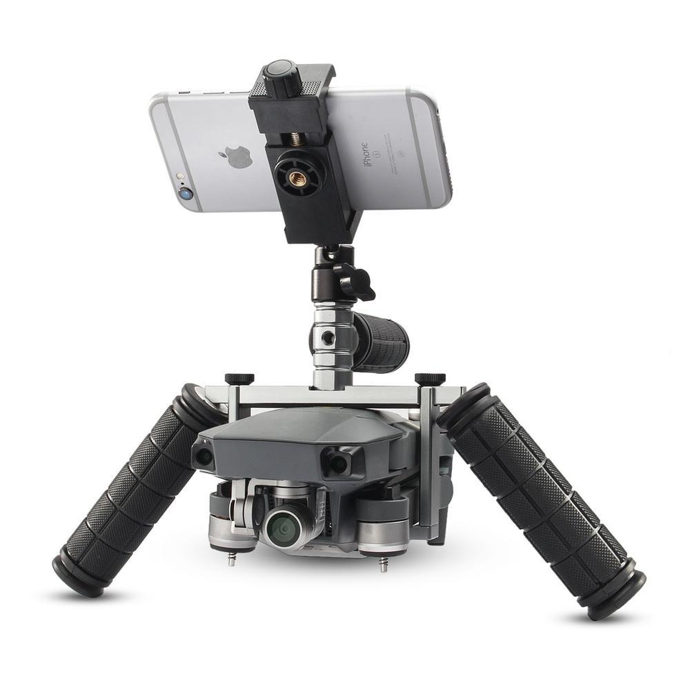 FotoPal Cinema Tray Metal Dual Handheld Gimbal Camera Stabilizer Bracket Kit for DJI mavic pro accessories yuneec q500 typhoon quadcopter handheld cgo steadygrip gimbal black
