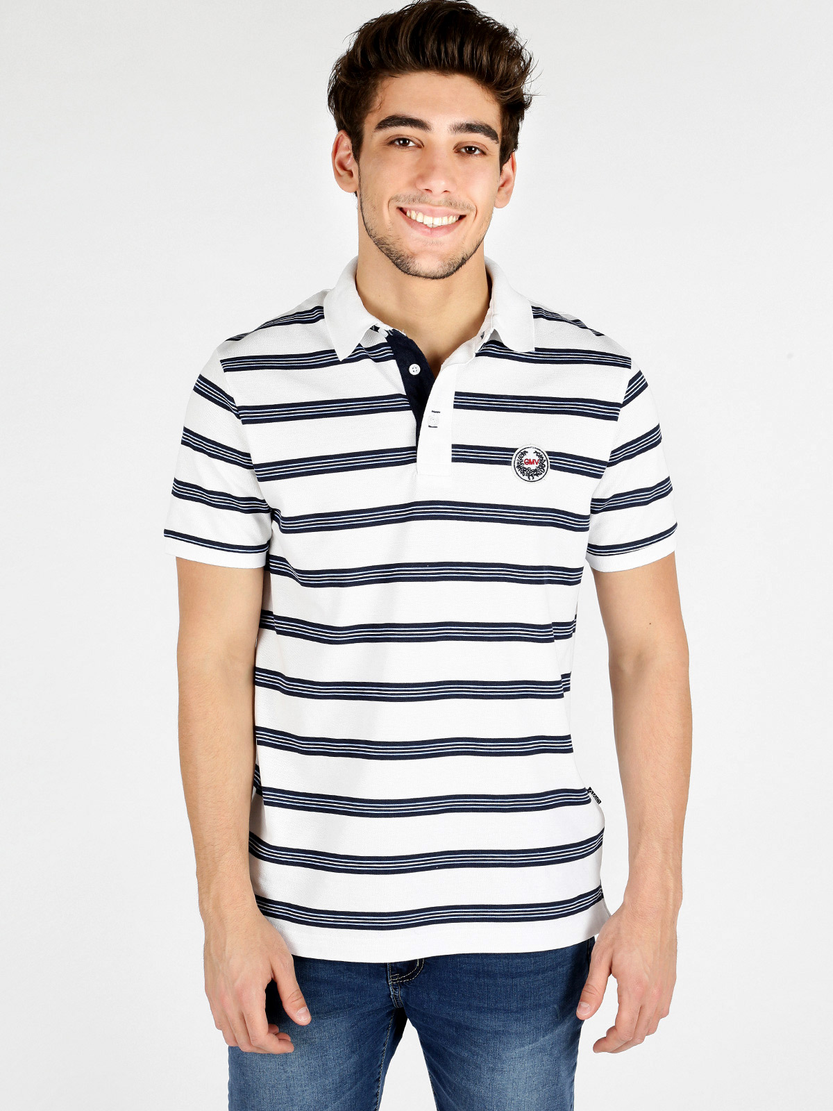 Polo   shirt cotton short-sleeved