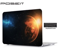 keyboard plastic case Color printing plastic Hard Case Cover Laptop Shell+Keyboard Cover For Apple Macbook Touch Bar 13 15 Air11 13 Pro Retina12 13 15 (1)