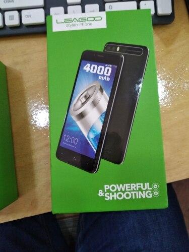 LEAGOO KIICAA POWER Android 7.0 Dual Camera Mobile Phone 4000mAh 5.0 Inch MT6580A Quad Core 2GB RAM 16GB Fingerprint Smartphone