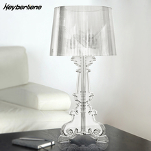 Modern Table Lamp Lustre Led Table Lamps For Living Room Bedroom Acrylic  Lampshade Abajur Lampara De
