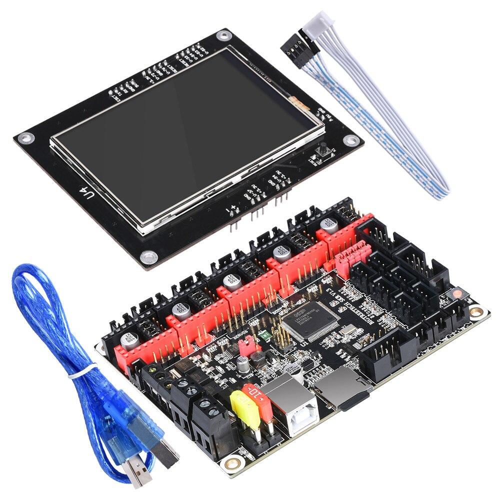 BIGTREETECH SKR V1.3 Planche à laver 32-PEU Bras CPU carte MÈRE + TFT3.5 Écran Tactile Open Source 3D Imprimante Pièces RepRap Gen L