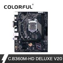 Colorful LGA 1151 DDR4 for USB3.0 Intel B360 Desktop Gaming Motherboard Port