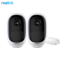 Reolink Argus Pro Cam 2 Pack Battery Powered Full HD 1080P Security WiFi IP Camera Outdoor Indoor Smart Video Surveillance
