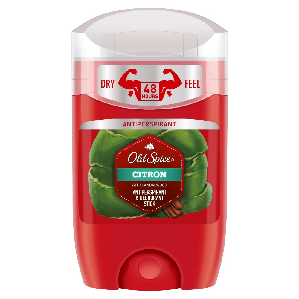 Old Spice roll-on deodorant-antiperspirant Citron 50ml old spice roll on deodorant antiperspirant odour blocker strong slugger 50ml