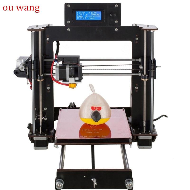 CTC A8 A6 A2 High Precision Desktop 3D Printer Kit Reprap i3 Kit DIY Kit Printer 3D Self Assembly MK8 Extruder Nozzle elecfreaks 3d printer ramps reprap exaltation kit