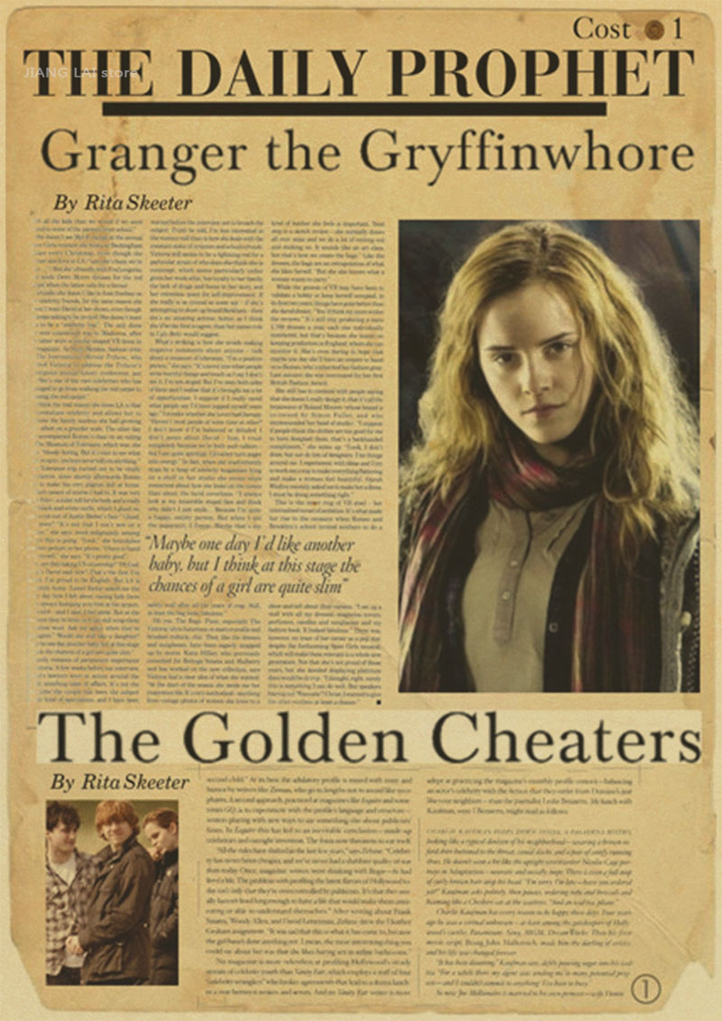 Wonderful Wallpaper Harry Potter Vintage - Kustom-poster-Harry-Potter-vintage-Cetak-poster-kamar-Rumah-Dekorasi-Jendela-poster-wallpaper  Graphic_171685.jpg