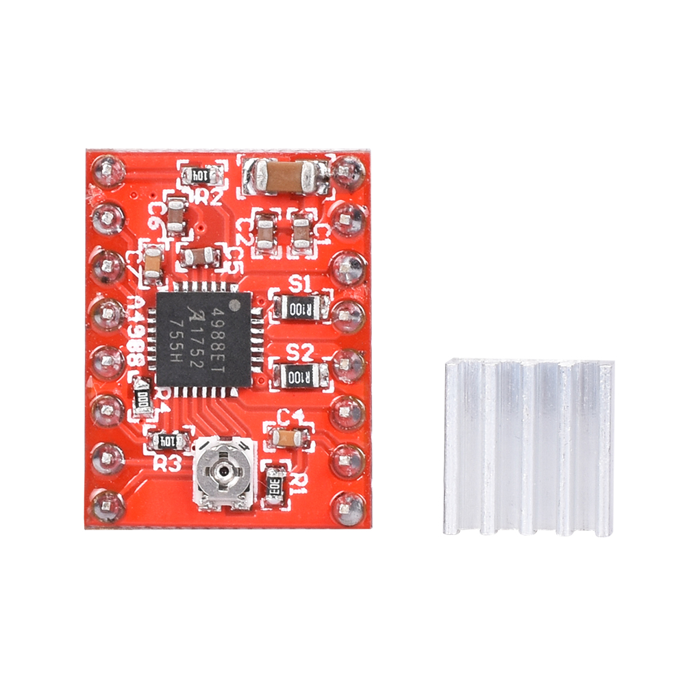 Stepper Motor Driver With Heat sink as 3D Printer Parts with Built-in Regulator 20