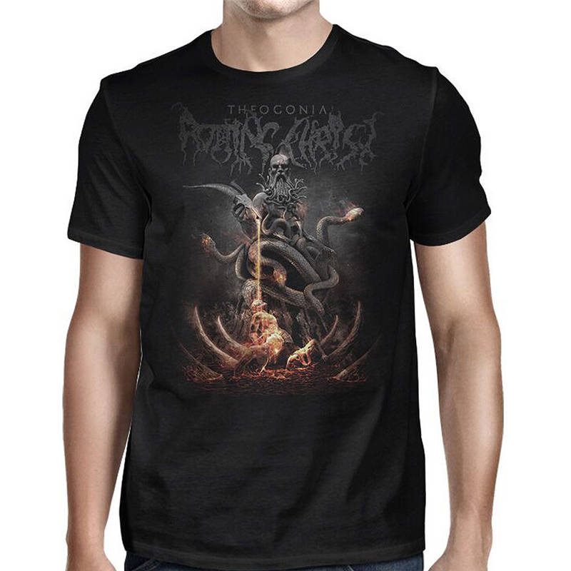 official price search for official limpid in sight US $13.19 12% OFF|New 2018 Hot Summer Casual T Shirt Printing Crew Neck Men  Rotting Christ Theogonia Short Short T Shirts-in T-Shirts from Men's ...