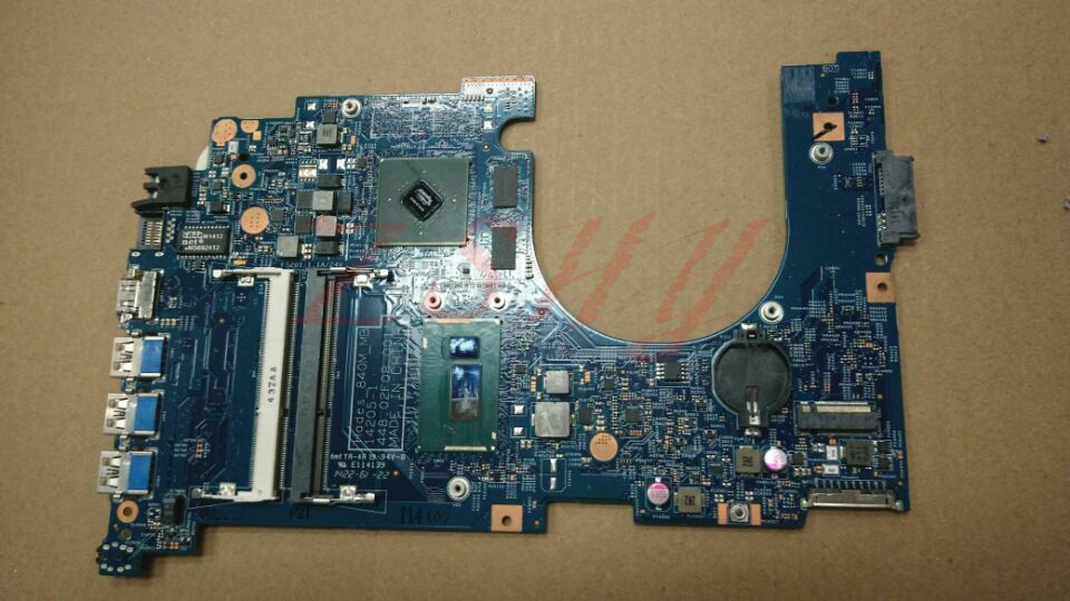 For font b Acer b font VN7 571G Laptop Motherboard NBMQK11008 With I7 CPU 840M2GB MainBoard