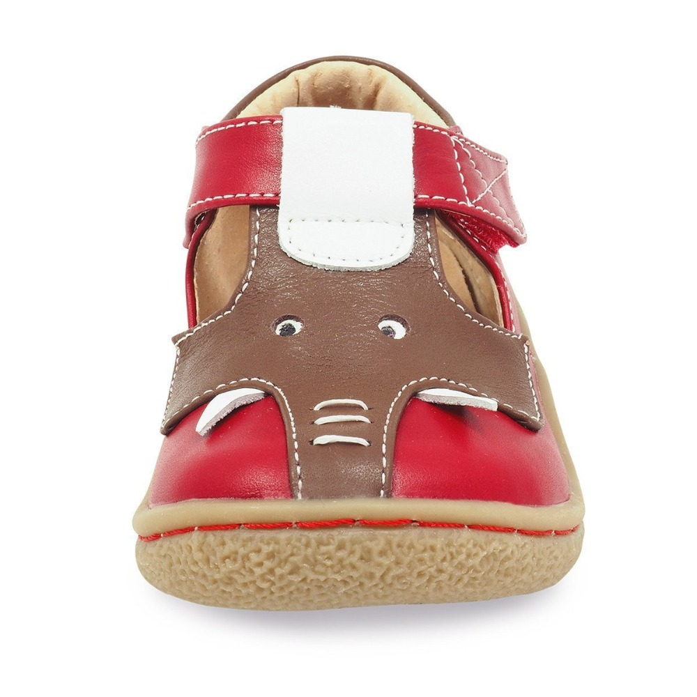 Image 4 - Tipsietoes Barefoot Kids Mary Jane Children's Shoes Boys  Elephant Sneaker Fashion Sport Child Causal  Genuine Leather-in Sneakers from Mother & Kids