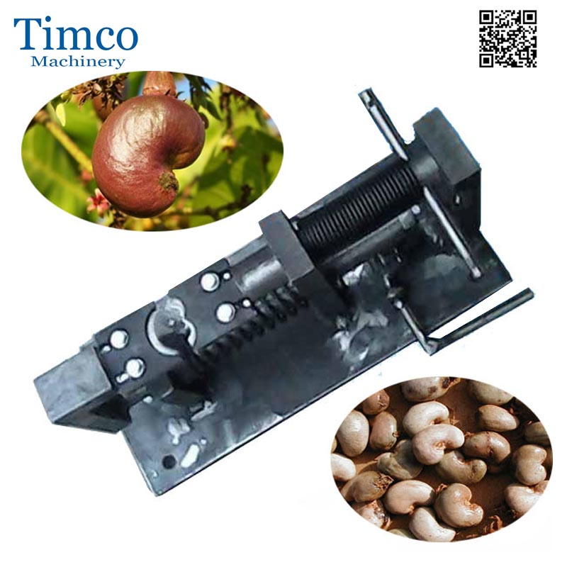 Cashew Nuts Sheller Manual Commercial Table Cashew Shelling Peeling Machine