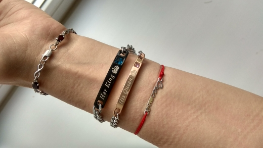 King and Queen Couple Bracelets(Set of 2) photo review
