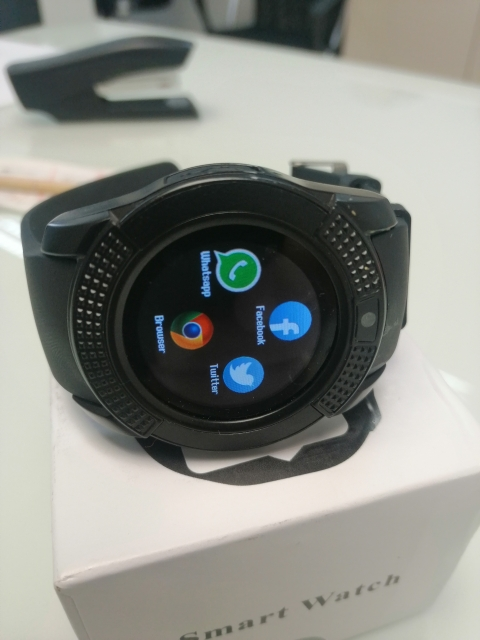Smart Watch V8 Men Bluetooth Sport Watches Women Ladies Rel gio Smartwatch with Camera Sim Card Slot Android Phone PK DZ09 Y1 A1-in Smart Watches from Consumer Electronics on AliExpress - 11.11_Double 11_Singles' Day