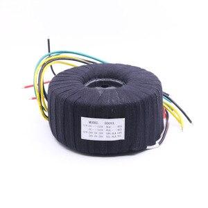 Image 1 - 500 W Siyah Kumaş Toroid Trafo NAP200 Amplifikatör 28V 0 28V 28V 0 28V Ses Güç Trafosu