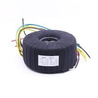 500W Black Cloth Toroid Transformer For NAP200 Amplifier 28V 0 28V 28V 0 28V Audio Power Transformer
