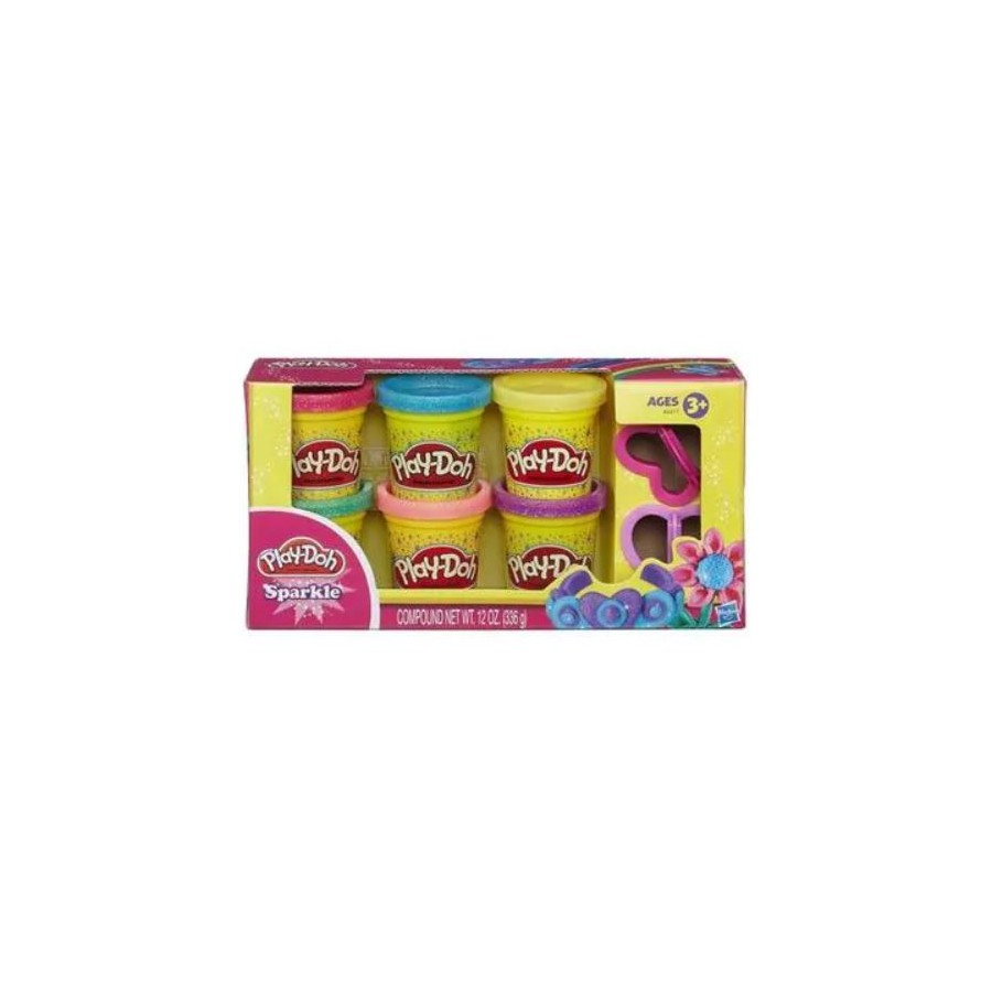myT Modeling Clay Play-Doh Set of plasticine of 6 jars Brilliant collection of 3+ for girls and boys A5417EU6 Hasbro annalisa tomato basil sauce 12 3 0z jar pack of 4 jars
