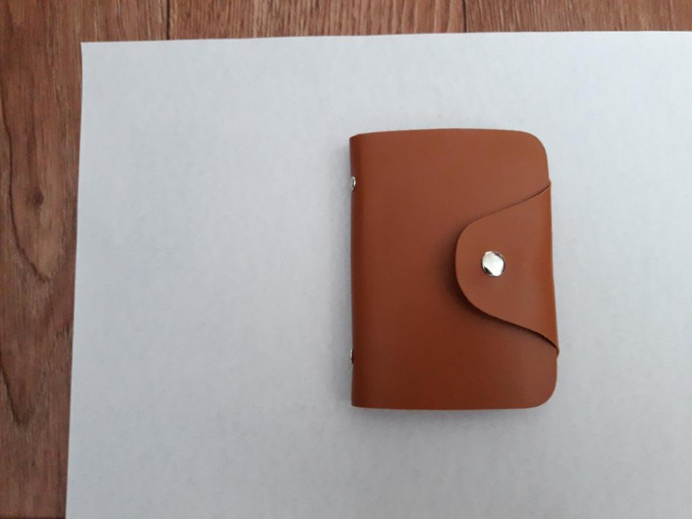 Vrouwenleer Creditcardhouder Hoes Kaarthouder Portemonnee Visitekaartje 302510 photo review