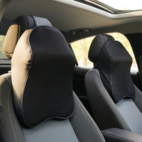 MALUOKASA 2 Pcs Car Neck Pillows Soft Memory Foam Headrest Cushion Pillow For Office Chairs in Car Seat Travel Pillows for Head