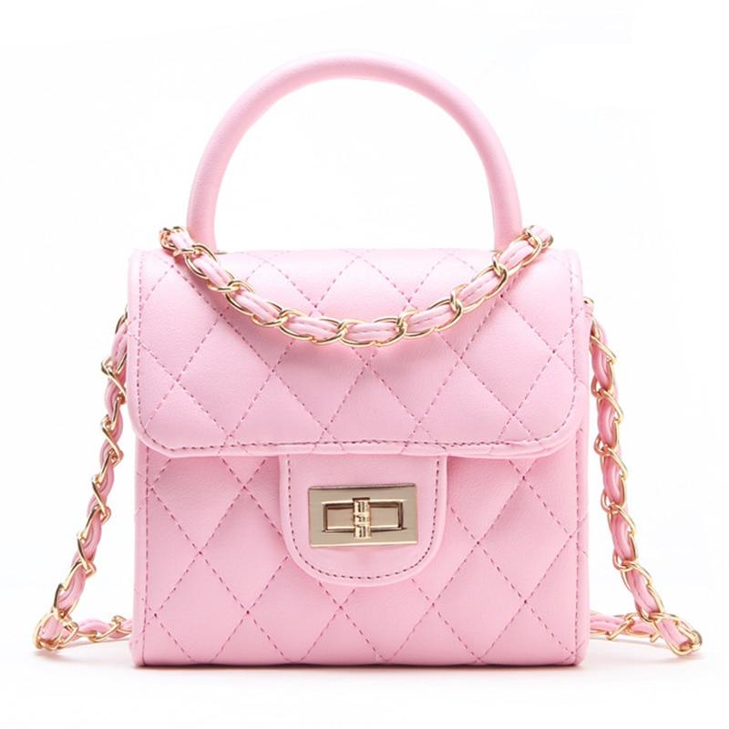 Известный бренд милые девушки Дети Сумочка Высокое качество PU белый Малый плечо мешок женские Дешевые SAC основной Портфели Канта