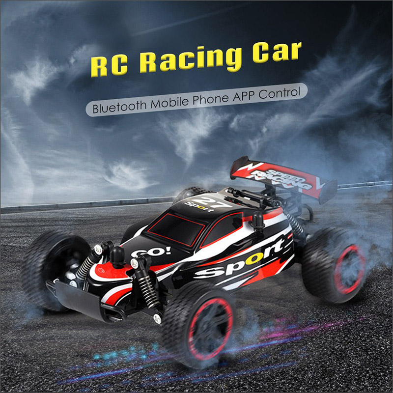 Jule M2014 Bluetooth Mobile Phone App Remote Control RC Racing Car OffRoad Vehicle Toy cool car drifting image