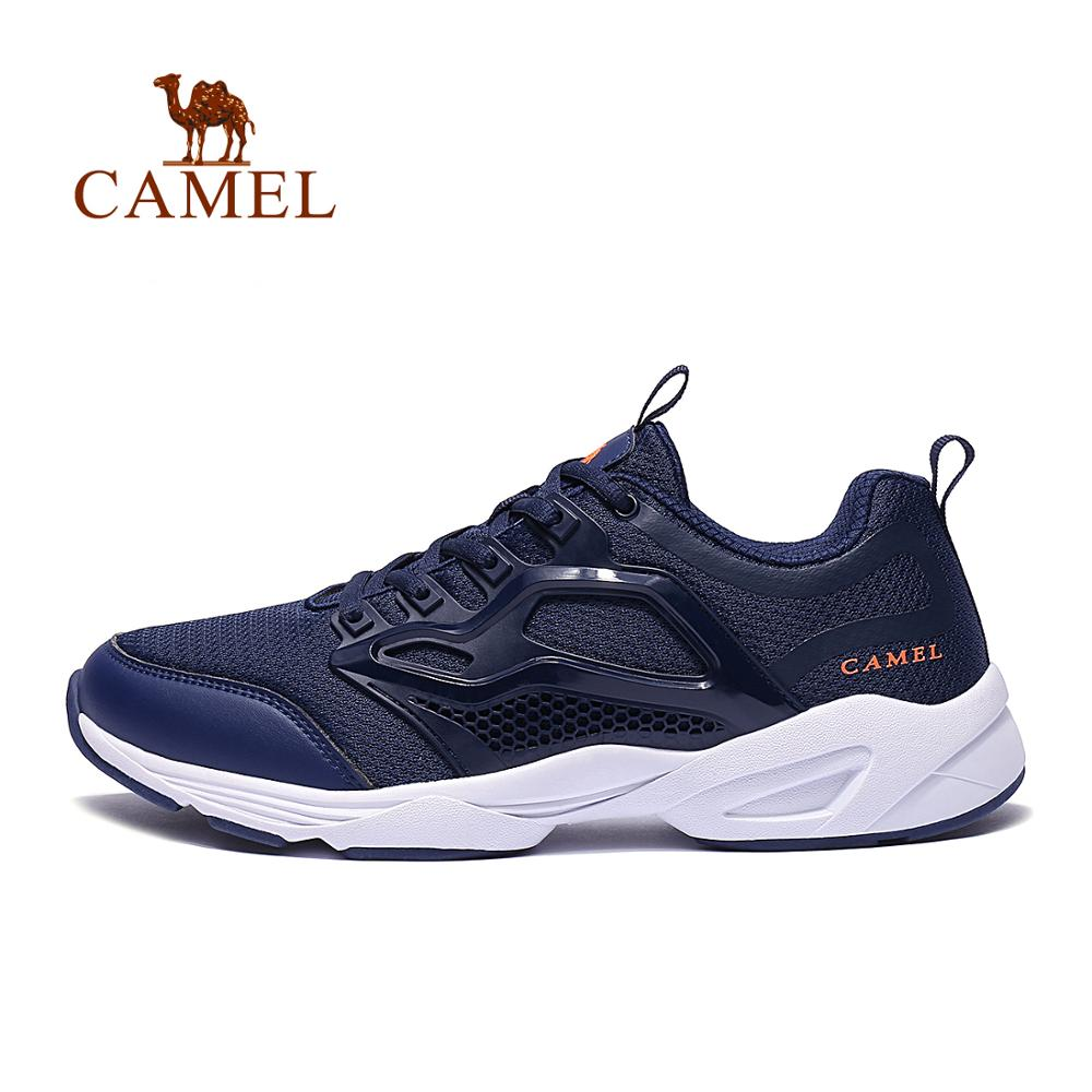 CAMEL Ultra Lightweight Breathable Mesh Running Shoes For Men New Quality Comfortable Outdoor Sports Walking Jogging