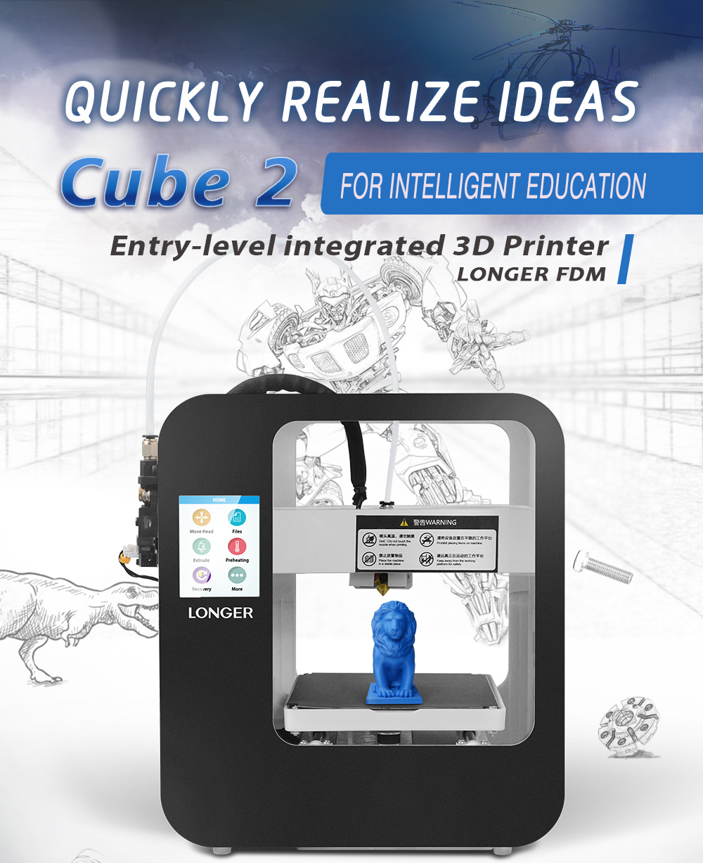 Alt Longer3D Cube2.0 FDM 3D printer-1