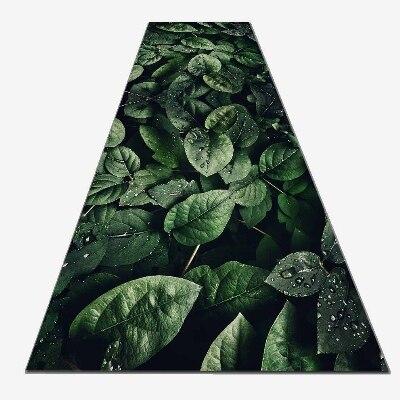 Autre vert forêt tropicale Jungle feuilles impression 3d antidérapant microfibre lavable Long coureur tapis tapis de sol tapis couloir tapis