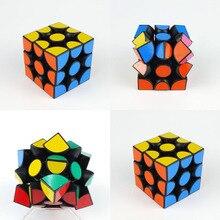 Verypuzzle slip 3 3x3x3 magique vitesse cube twisty puzzle pour jouet éducatif cerveau teaser jouets