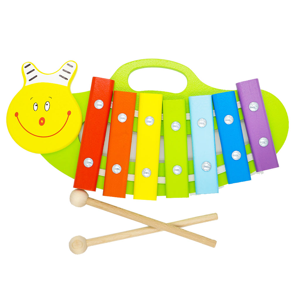 Toy Musical Instrument Alatoys KC0701 play glockenspiel xylophone music toys for boys girls sassy seat doorway jumper 5 toys with musical play mat
