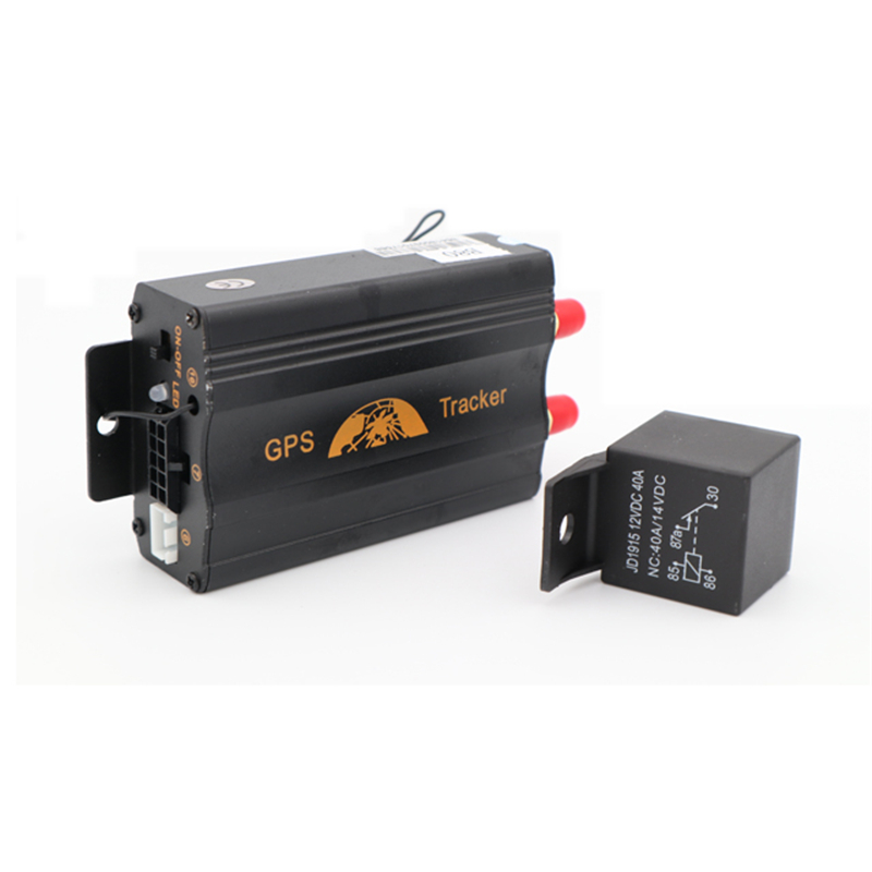 GPS Tracker dispositif de suivi de voiture retenue sur chenilles TK103B huile coupée GSM GPS localisateur moniteur vocal alarme de choc application Web gratuite