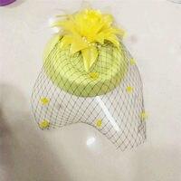Fascinators Hair Clip Headband Pillbox Hat Bowler Feather Flower Veil Wedding Party Hat african
