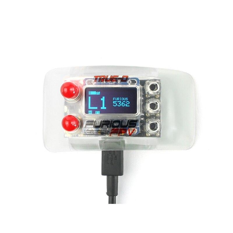 Furiousfpv True-D V3.6 5,8 Г 40CH разнесенного Системы для Fatshark Dominator очки RC Drone FPV гонки запасные Запчасти