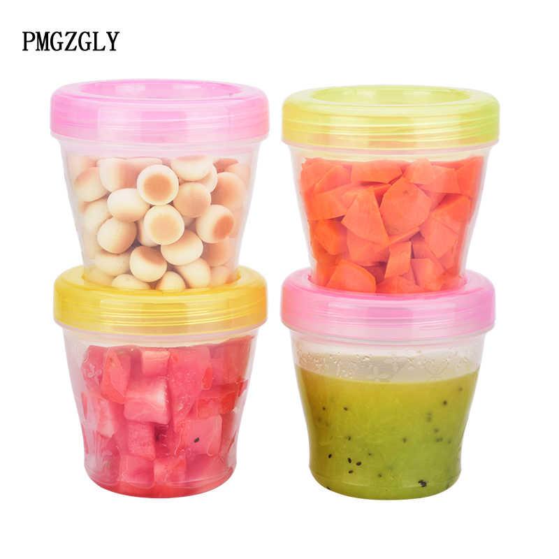 กล่องเก็บอาหารเด็กถ้วยนมน้ำผลไม้ชุดเก็บ Seal การเก็บรักษาถ้วยกล่อง Melkpoeder Doosjes เก็บอาหารเด็ก