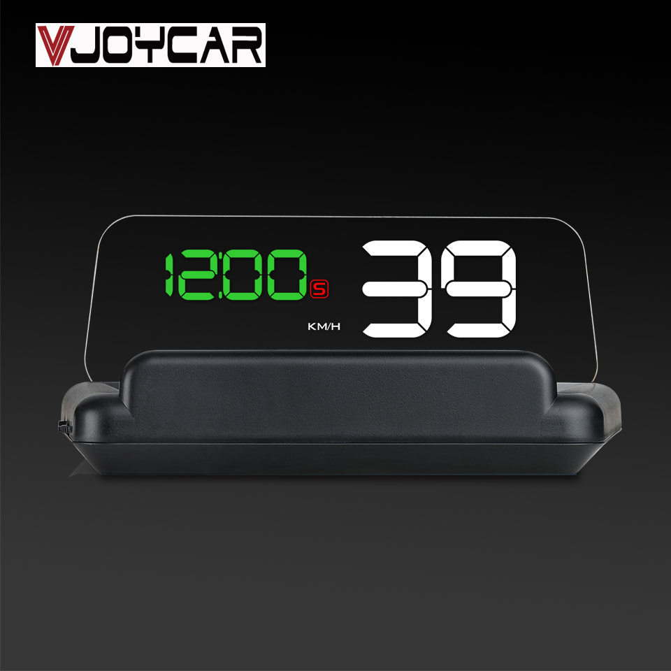 VJOYCAR T900 Car Hud GPS Speedometer Head Up Display With Reflection Board Car Speed Projector Over Speed Alarm For All Vehicle цена