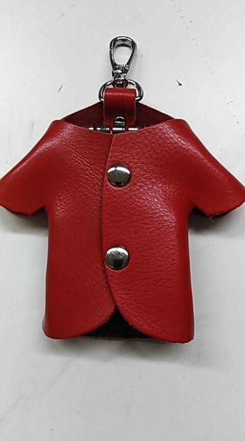 2019 Fashion Car Key Wallet Holder Women Men Genuine Leather Unisex Key Purple Organizer Bag Card Holder Housekeeper Wallet photo review