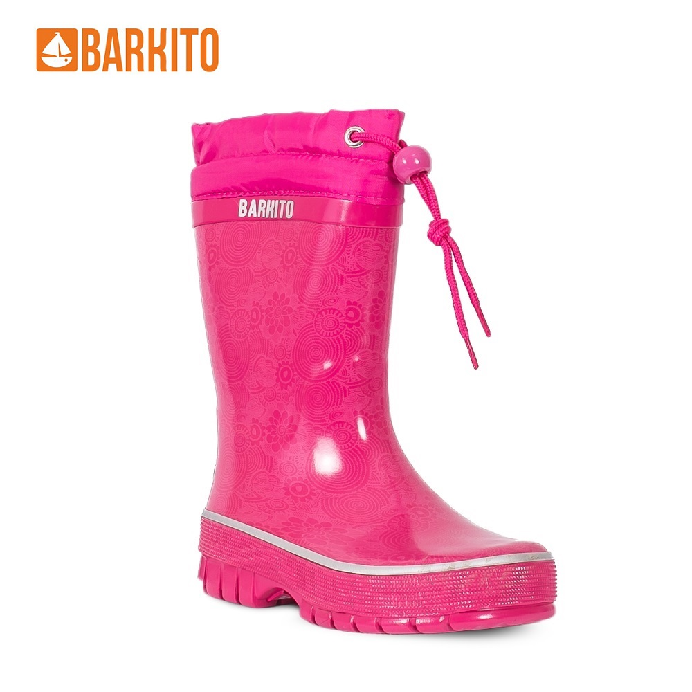 Boots Barkito 340663 children shoes Pink Spring/Autumn 35 Rubber Girls