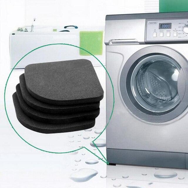 4 pz/lotto di Lavaggio Multifunzione Macchina Anti-vibrazione Pad Zerbino Per Fr