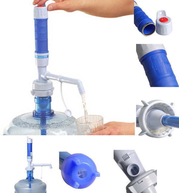 Electric Water Pump Bottle With Switch Charger