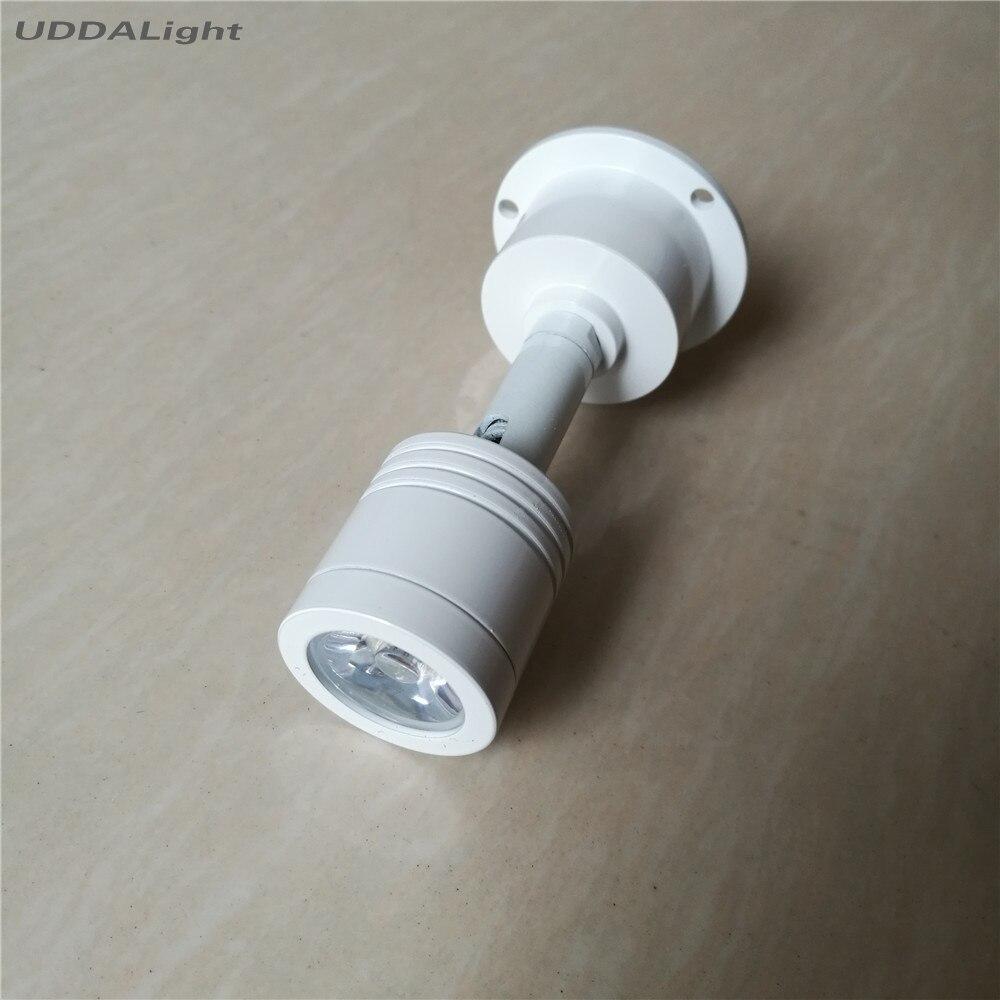 led diamond corner light industrial lamp 3w stairs light mini spotlight led ressessed in white housing