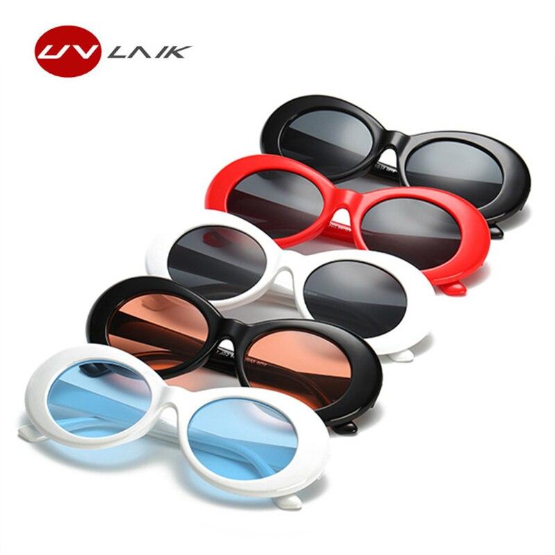 38f3e76056b93 UVLAIK Kurt Cobain Glasses NIRVANA Clout Goggles Sunglasses Women ...