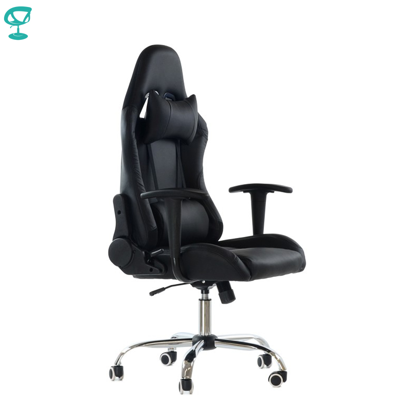 95272 Barneo K-42 Black Gaming Chair For Cyber Sport Computer Chair Ecoleather High Back Free Shipping In Russia