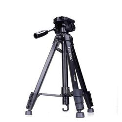 Yunteng 668 Professional Aluminium Tripod Camera Accessories Stand with Pan Head For SLR DSLR Digital Camera